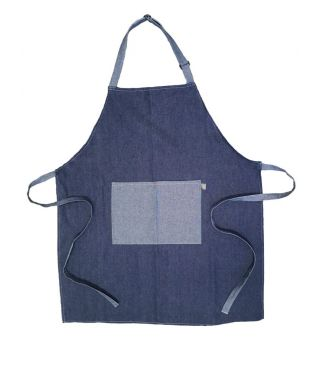 100% Cotton Full Bib Apron-Denim