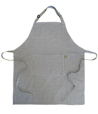 100% Cotton Chefs Check Aprons