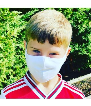 KIDS - Reusable Triple Layer 100% Cotton Face Mask-With D15 Filter