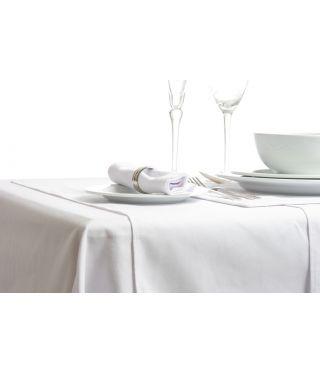 Deluxe Premium Plain White Table Linen