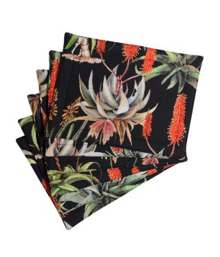 Botanica Aloe - Black- SET OF 6