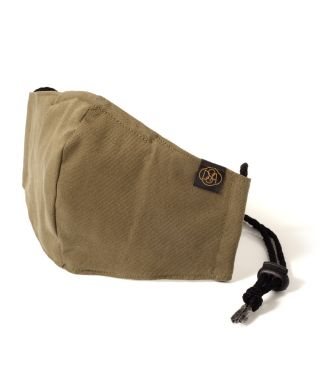 Reusable Triple Layer 100% Cotton Face Mask-With D15 Filter-Olive