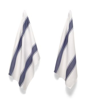Tea Towels - Artisan Stripe - Navy
