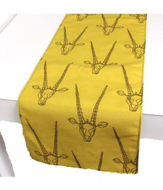 Gemsbok design 40 x 230cm Table Runner