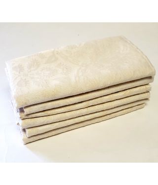 Palace Damask - SET OF 6-Cream