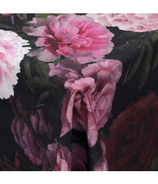Botanica Black Peony - Fabric by the metre