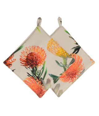Botanica Pin Cushion Pot Holders Pack of 2