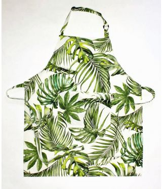 Alpine - Tropical Forest Full Bib Apron
