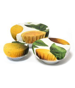 Bowl Coverings - Botanica Lemon - Set of 3