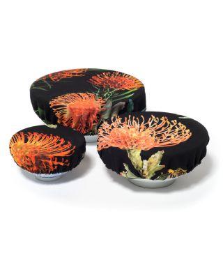 Bowl Coverings - Botanica Pin Cushion - Black - SET OF 3