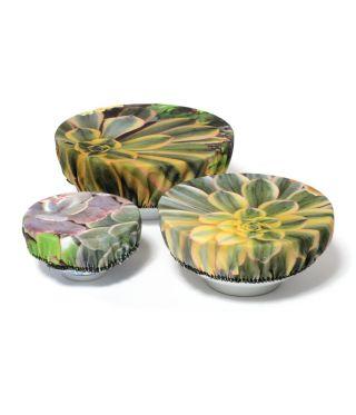 Bowl Coverings - Botanica Pin Cushion - Succulent Green - SET OF 3
