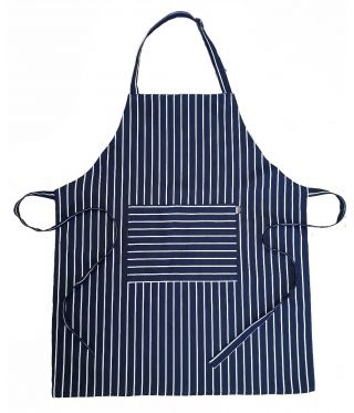 100% Cotton Butcher Stripe Aprons