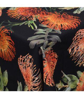 Botanica Pin Cushion - Black - Fabric By The Meter