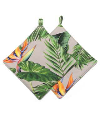 Botanica Strelitzia - Linen- SET OF 2