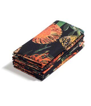 Botanica Pin Cushion - Black - SET OF 6