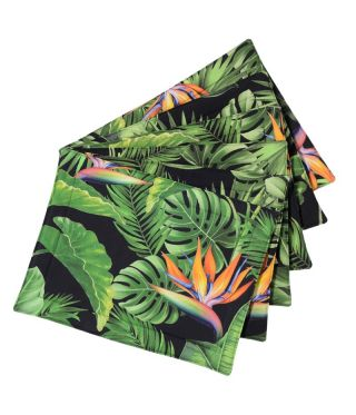 Botanica Strelitzia - Black - SET OF 6