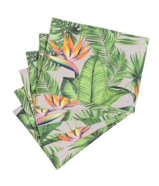 Botanica Strelitzia - Linen - SET OF 6