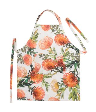 Botanica Pin Cushion - White - Full Bib Apron