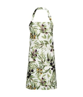 100% Cotton Apron - Olive