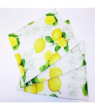FRUIT - SET OF 6 -Lemon