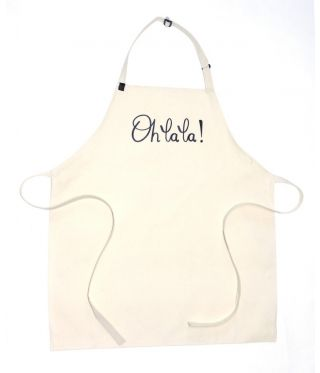 100% Cotton Slogan Apron - Ohlala