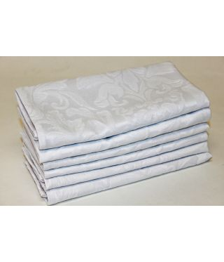Palace Damask - SET OF 6-White