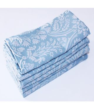 Palace Damask - SET OF 6-Duckegg