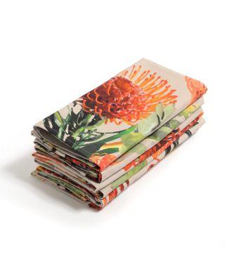 Botanica Pin Cushion - Linen Napkin - Set of 6