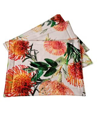 Botanica Pin Cushion Linen Placemats Pack of 6