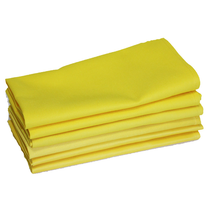 100% Cotton - Yellow