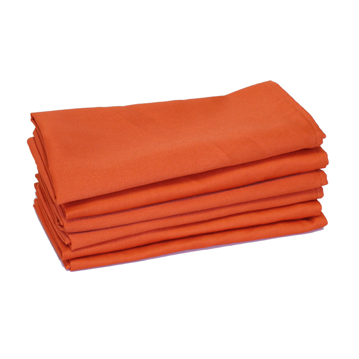100% Cotton - Orange