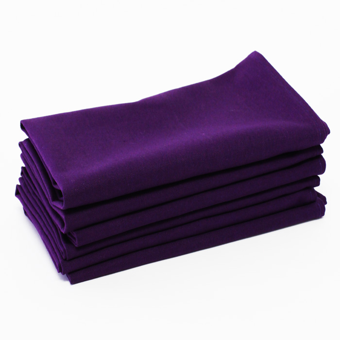 100% Cotton - Purple