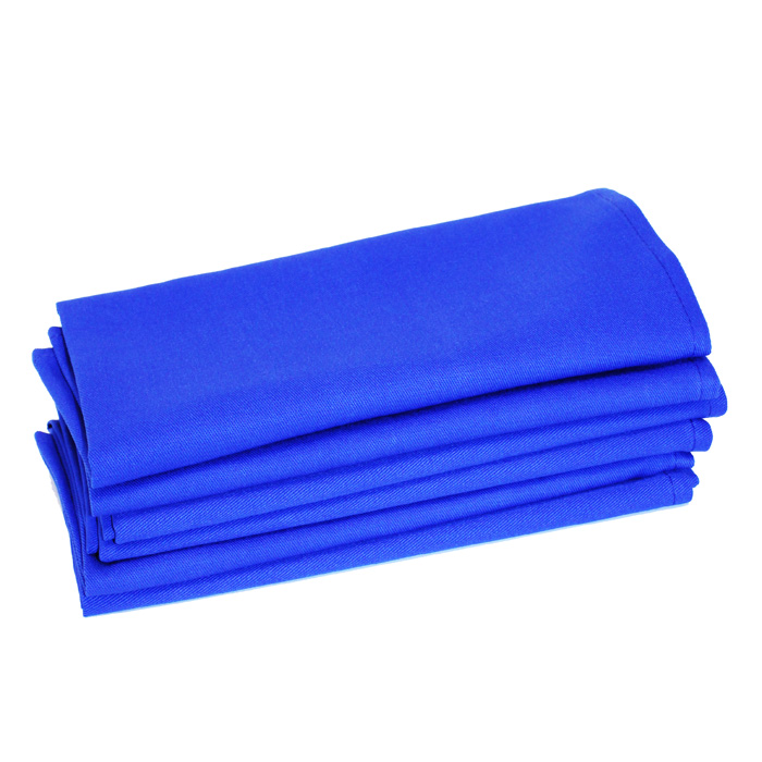 100% Cotton - Royal Blue
