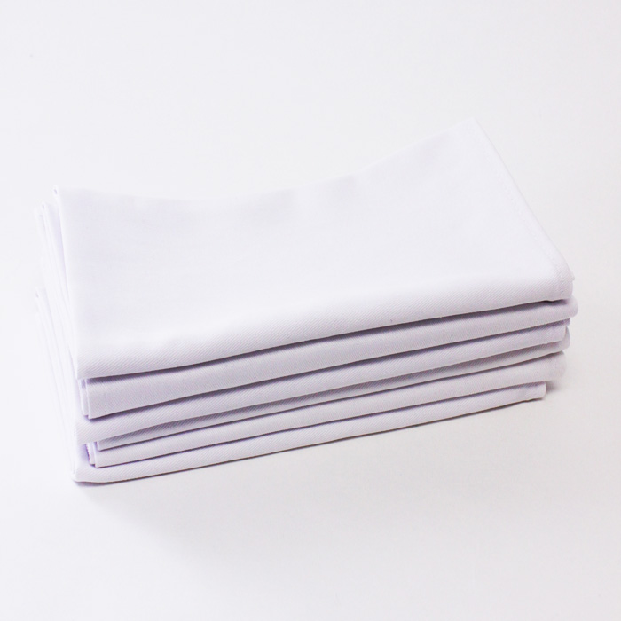 100% Cotton - White