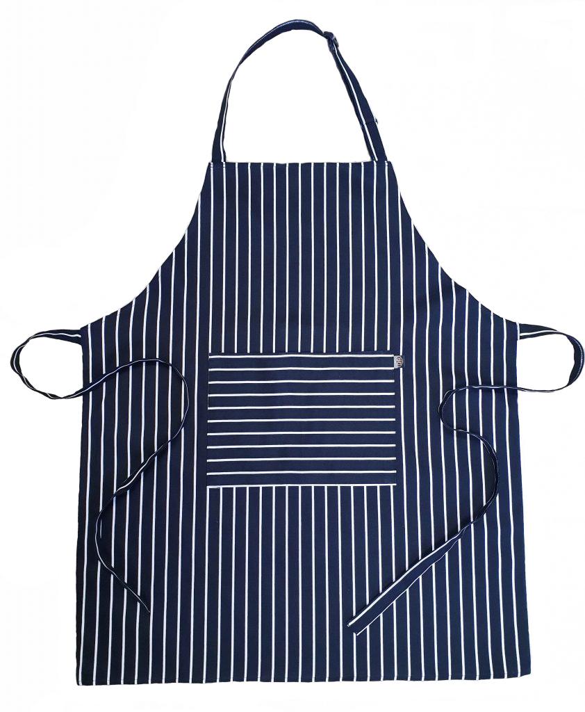 Butchers stripe -Black