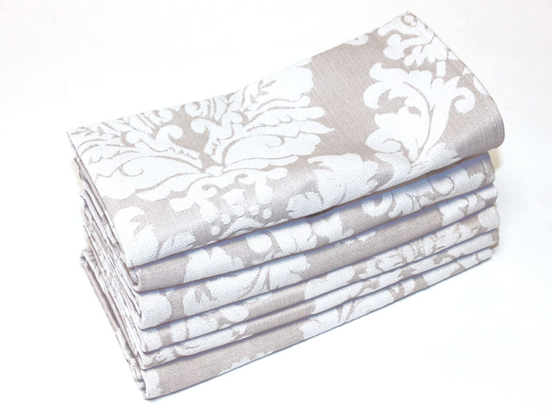 French Damask - Stone